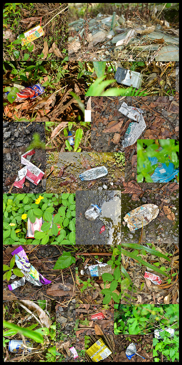 Pantai Hill Orchard resort trash
