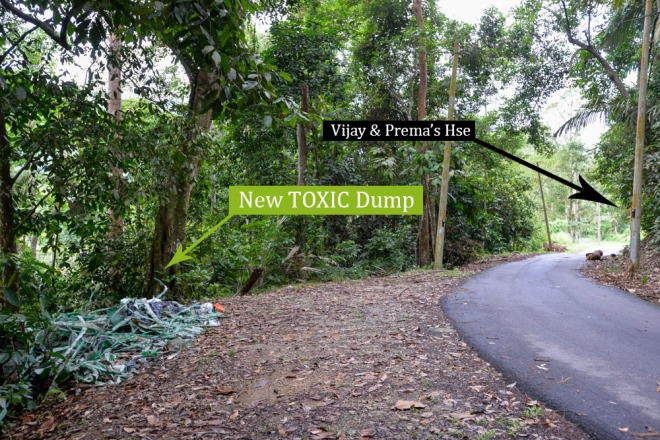 Pantai Hill orchard resort new toxic dump