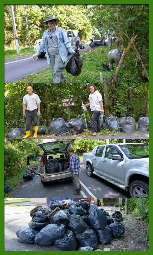 Pantai Hil River Cleanup graphic