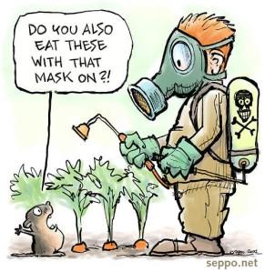 GMO roundup vegetabes